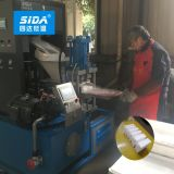 Sida Fully Automatic Dry Ice Pellets Making Machine Block Pressing Machine with Dry Ice Block Packing Wrapping Machine 100~2000kg/H