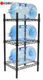 Detachable 3 Tiers Steel Water Bottle Cabby Storage Rack Water Cooler Jug Rack