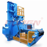 High Heating Power Cleaning Speed 1-4m/Min Motor Castings Deceleration Machine Mesh Belt Shot Blasting Machine