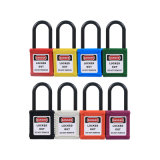 38mm Industrial Nylon Shackle Safety Padlock Lockout Lock (BD-G11)