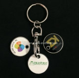 Customized Trolley Coin Key Holder
