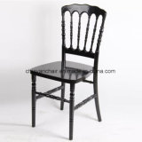 Strong Modern Hotel furniture Clear Polycarbonate Resin Napoleon Chairs