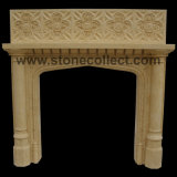 Beautiful European Style Marble Fireplaces/Mantels for Indoor