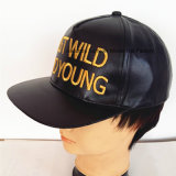 Leather Sport Cap High Quality Embroidered Hat Urban Fashion Hat Trucker Caps