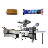 Without Tray Product on Edge Cracker Flow Packing Multi-Function Sealing Machinery