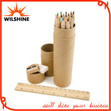 Wooden Color Pencil Set for Gift (MP003)