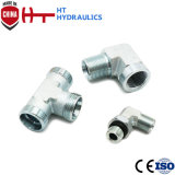 2b Bsp Male Hydraulic Hose Fitting Adapter Pipe Connector for Hydraulic Hose