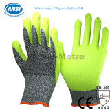 Nmsafety ANSI Cut Level 5 PU Hand Protection Safety Gloves