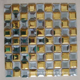 Beveled Diamond Mirror Glass Mosaic Tiles