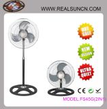 Industrial Fan 2 in 1 - Can Be Converted Into Table Fan and Stand Fan