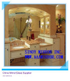 China Large Bathroom Silver Mirror Sheet From Qingdao