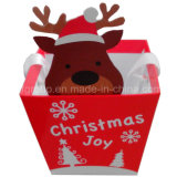 Customized Colorful Printing Christmas Paper Gift Bag