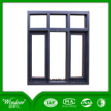 Double Pane Inside Opening Aluminum Casement Window Metal Window Iron Window Design