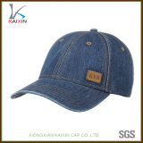 Custom Denim Dad Hat Jean Men's Baseball Cap