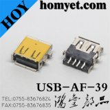 USB a Type Female Connector for Electric Accessories (USB-AF-39)