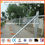 Anti-Corrosion Galvanized Steel Residential Construction Fence