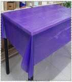 Eco-Friend Disposable Flower Table Cloth Plastic Tablecloth Rolls PVC Table Cover