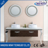 Double Basin Waterproof Bathroom Vanity Units with Mirror