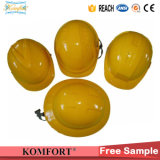 Yellow ABS Working Safety CE ANSI Helmet for Construction (JMC-422B)