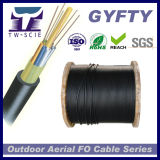 Aerial PE Sheath Fiber Optic Cable GYFTY 96 Core Wholesale