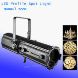200W Warm White LED Profile Gobo Projector LED Stage Lighting
