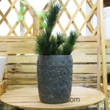 High Quality Chinese Wholesale Round and Square Magnesia Flower Pots