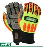 Anti-Slip Impact Resistant Mechanical Safety Work Gloves with TPR
