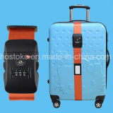 Tsa Custom Lock+Password Luggage Strap Belt