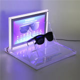 LED L-Shape Acrylic Sunglasses Display Holder