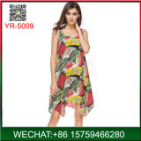 Ladies Casual Summer Beach Dress Cheap Wholesale From China