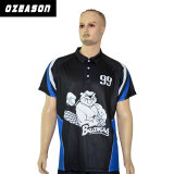 Hot Sale Sublimation 100% Polyester Dry Fit Darts Polo Shirt