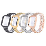 Cool Fashion Stainless Steel Watch Strap with Metal Case for Fitbit Blaze