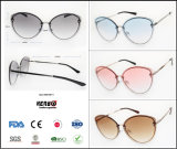 2019 New Fashion Trend Best Selling Rimless Sunglasses for Lady