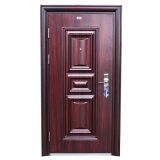 Factory Direct Wrought Iron Door Price High Quality Iron Safety Door Design Fashion Elegant Wooden Single Door Designs