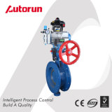 Pneumatic Three Eccentric Flange Butterfly Valve