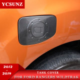 Ycsunz Pickup Accessories ABS Carbon Fuel Tank Cover for 2012-2019 Ranger T6 T7 T8