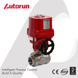 Motorized 3 Way Thread End Ball Valve