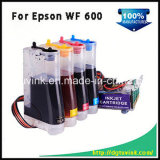 Inkjet Printer T0691 Inkjet Bulk Ink CISS for Epson Wf600 with Art Paper Ink