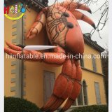 Giant Advertising Beach Inflatable Figures Cartoon Characters Crab