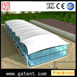 Square Shape UV Proof Water Proof Tensile Swimming Awning Pool Tent