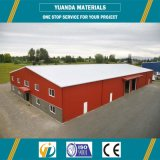 Steel Structure Workshop Prefabricated Godown Warehouse Metallic Roof Structure