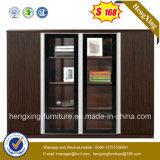 Modern Office Furniture Black MDF 4 Doors Storage File Cabinet (HX-4FL073)