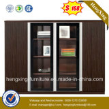 Modern Office Furniture Black MDF 4 Doors Storage File Cabinet