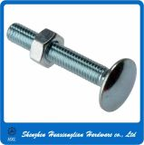 DIN 903 M4 5mm Aluminum Carriage Bolt with Hex Nuts