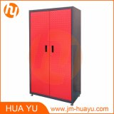 Diamond Plate Double Door Tool Cabinet