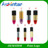 Pen Drive Memory Stick USB Metal Lipstick USB Flash Drive