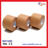 2015 Wholesale Cheap Multifunction Rayon Multicolor Zinc Oxide Cloth Breathable Porous Sports Tape Bandage