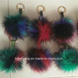 Plush Faux/Fake Fur POM POM Key Rings