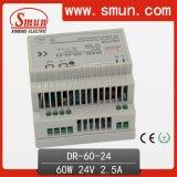 60W 12V 15V 24V 48V Dinrail Power Supply Switching