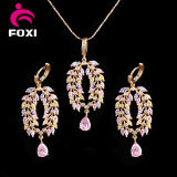 Victorian Style Women Fashion Necklace Earring Jewelry Set